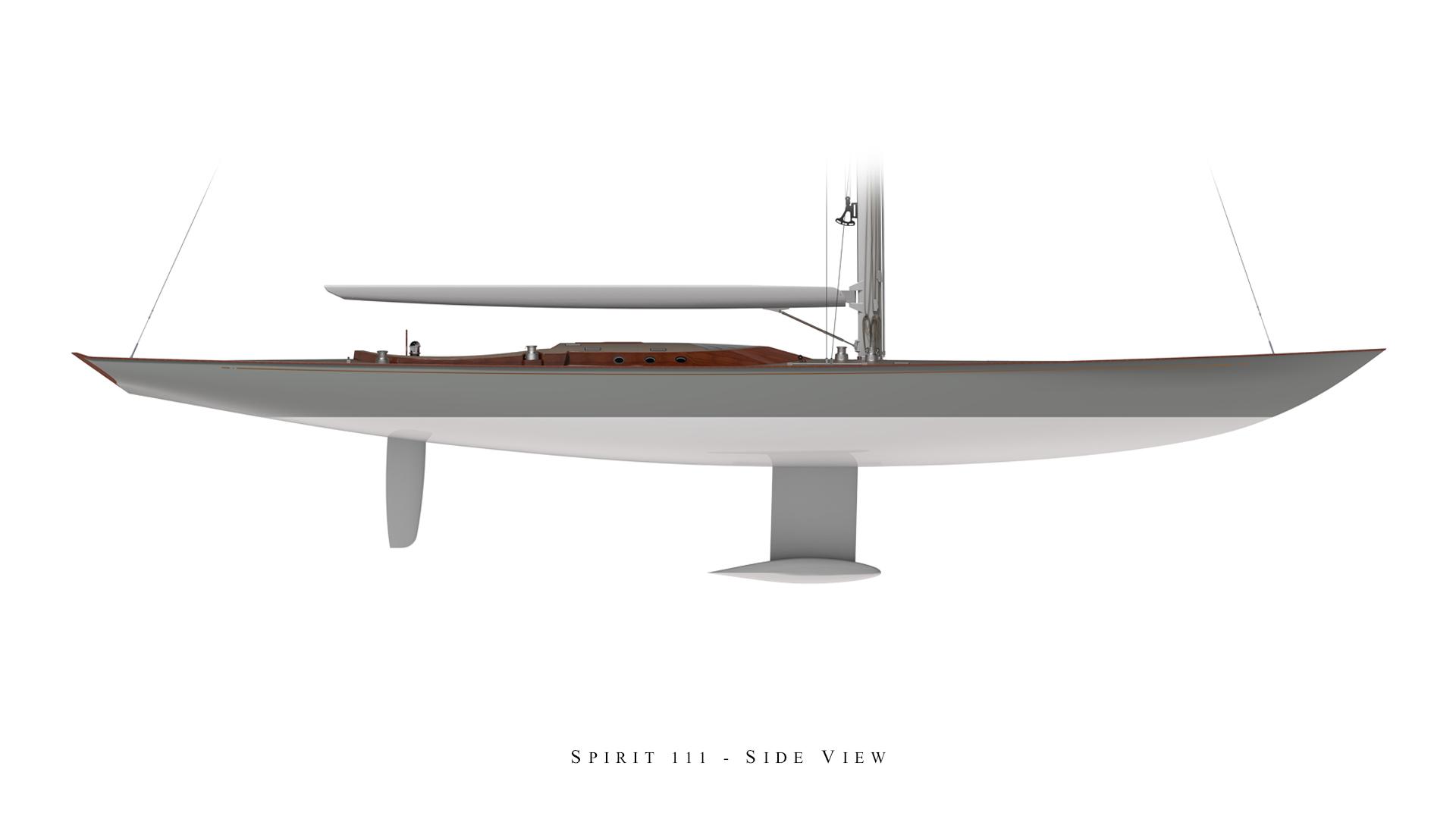 Spirit 111 - Side View