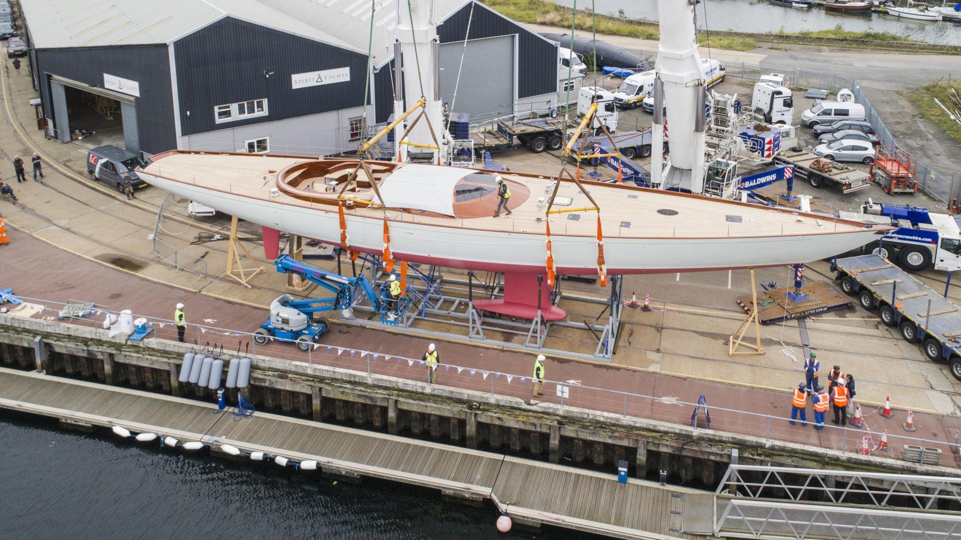 Spirit Yachts Launches Flagship Spirit 111 Superyacht Spirit Yachts