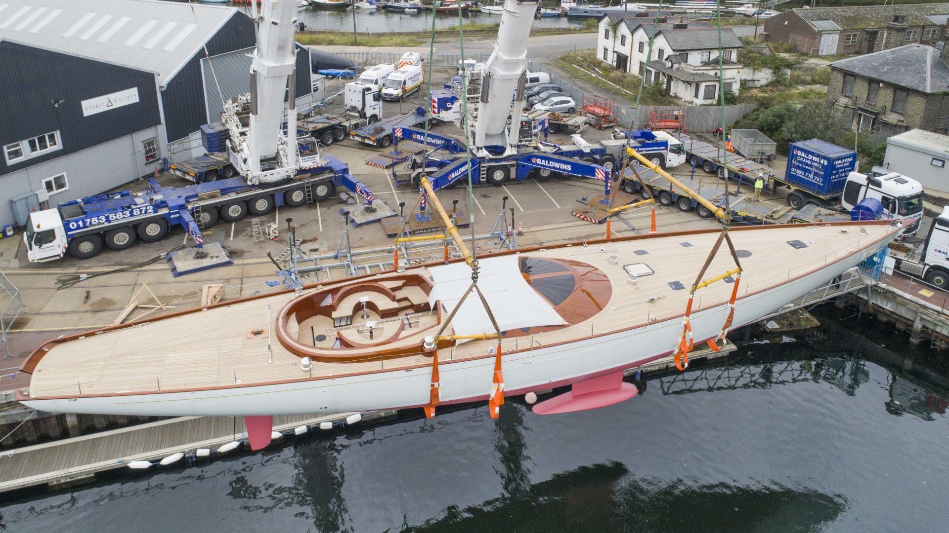 Spirit Yachts Launches Flagship Spirit 111 Superyacht