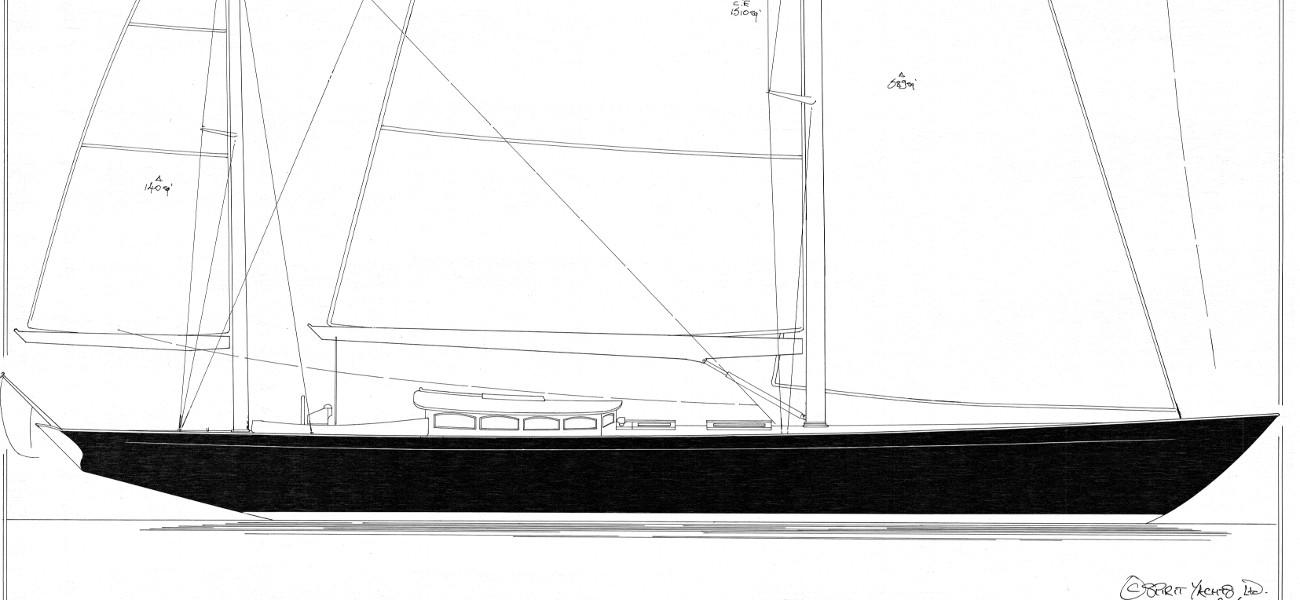 Spirit 62DH Yawl Rig plan   Spirit Yachts