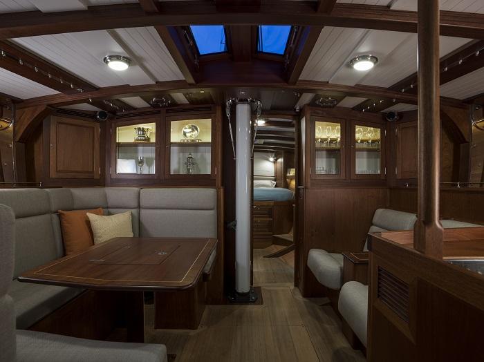 Spirit Yachts DH63 interior