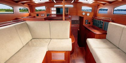 Spirit Deckhouse | Luxury Interior | Living Area