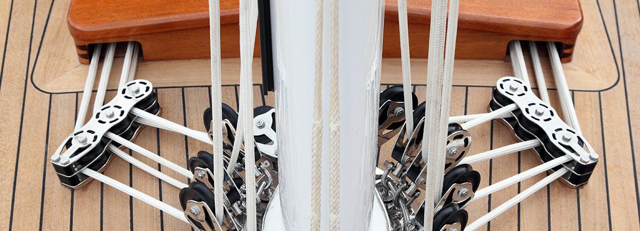 Spirit DH57 | Luxury Yacht | Detail