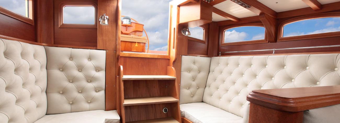 Spirit DH57 | Luxury sailboat Designers | Interior