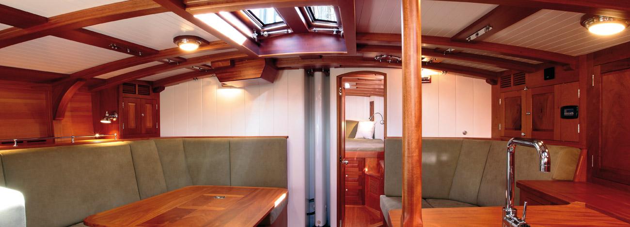 Spirit DH60 | Interior | Wooden Sailboats