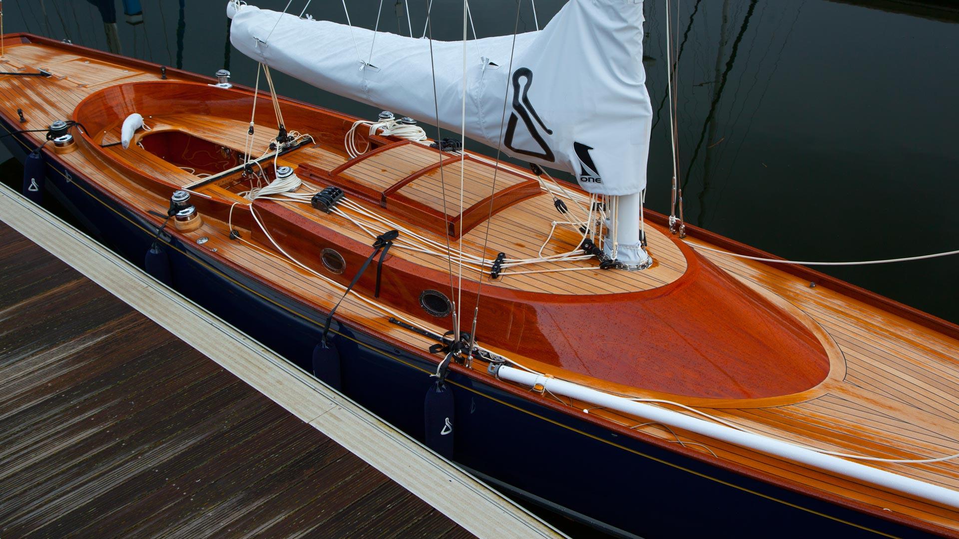 Tamara Weijenberg Wears Yacht Style for Naomi Yang in