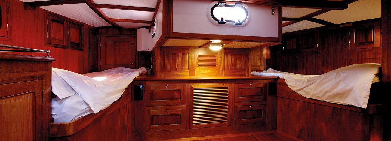Spirit Yachts | Spirit of Galatea Classic 74  Bedroom