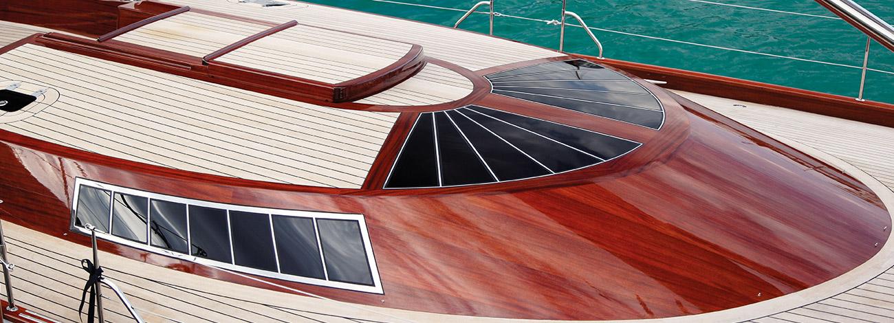 Spirit Yachts | Spirit of Galatea Classic 74 | Docked