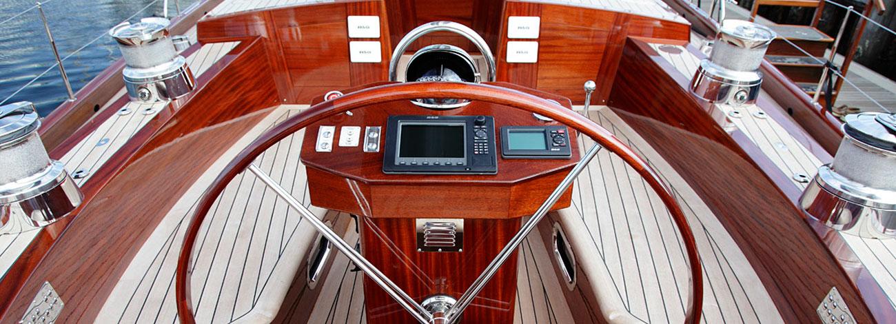 Spirit Yachts C74 Wheel